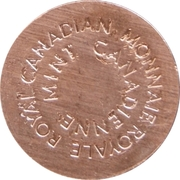 Royal Canadian Mint Token (Canada Day 2015) – reverse