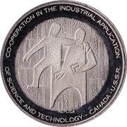Medallion - Visit of Alexei N. Kosygin to the Sherritt Mint (Replica) – obverse
