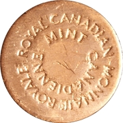 Royal Canadian Mint Token - Vancouver (Year of the Monkey) – reverse