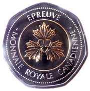 Royal Canadian Mint Test Token – reverse
