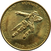 Royal Canadian Mint Token - Millennium – reverse