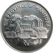 Token - Manitoba Joined The Dominion of Canada 1870 – obverse