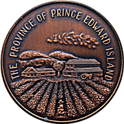 Token - Prince Edward Island Joined The Dominion of Canada 1873 – obverse