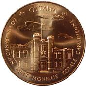 Royal Canadian Mint Medal - Ottawa & Winnipeg Mints (copper) – obverse