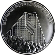 Medallion - Royal Canadian Mint – reverse
