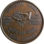 Royal Canadian Mint Token (60th Anniversary) – reverse