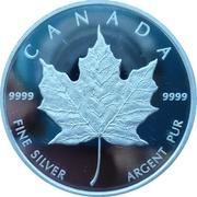 Token - Canadian Maple leaf – reverse