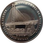 Token - Samuel de Champlain Bridge – reverse
