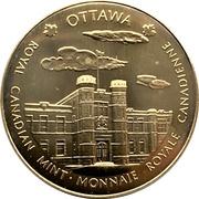 Royal Canadian Mint Medal - Ottawa & Winnipeg – obverse