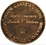 Medal - Royal Canadian Mint (Polar Bear & RCM President D. Wetherup) – reverse