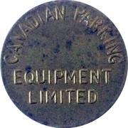Parking Token - Canadian Parking Equipment Limited – reverse