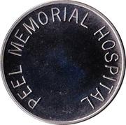 Parking Token - Peel Memorial Hospital (Brampton, Ontario) – obverse