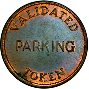 Parking Token - Thunder Bay – reverse