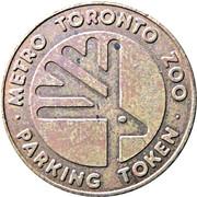 Parking Token - Metro Toronto Zoo – reverse