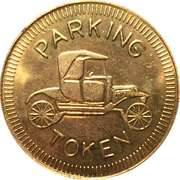 Parking Token - Minto – obverse