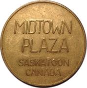 Parking Token - Midtown Plaza (Saskatoon) – obverse