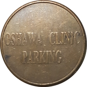 Parking Token - Oshawa Clinic – reverse