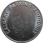 Token - Calgary Parking Authority – obverse