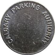 Token - Calgary Parking Authority – reverse