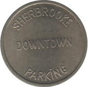 Parking Token - Sherbrooke Downtown – reverse