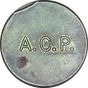 Parking Token - A.C.P. – obverse