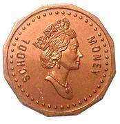 1 Cent - Elizabeth II (School Money) – obverse