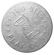 25 Cents (Two Bits Play Coin) – obverse