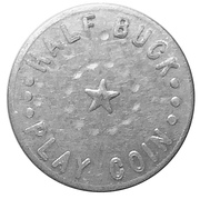 50 Cents (Half Buck Play Coin) – obverse