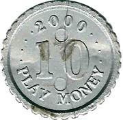 10 Play Money - BigiBank – reverse
