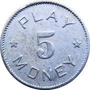 5 - Play Money (Beaver) – obverse