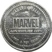 1 Free Game Token - Marvel Adventure City (Niagara Falls) – obverse