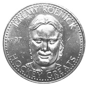 Token - NHLPA Limited Edition Greats Coin Collection (Jeremy Roenick) – obverse