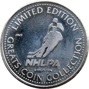 Token - NHLPA Limited Edition Greats Coin Collection (Eric Lindros) – reverse