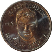 Token - NHLPA Limited Edition Greats Coin Collection (Mario Lemieux) – obverse