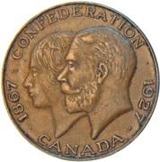 Medal - Canada Confederation – obverse