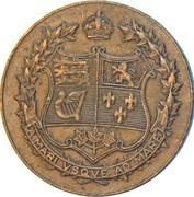 Medal - Canada Confederation – reverse