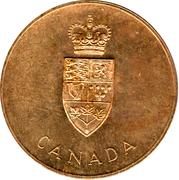 Medallion - Centennial of Canadian Confederation – obverse