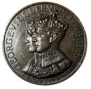 Medallion - George VI and Queen Elizabeth (Ford V-8) – obverse