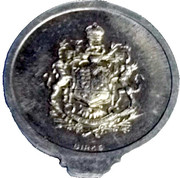 Medal - Royal Visit to Canada – reverse