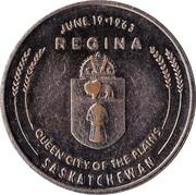 Medal - Praire Progress (Regina, Saskatchewan) – reverse