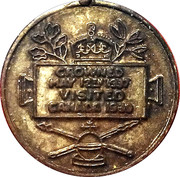 Token - Visit of the King George VI and the Queen Elizabeth to Canada – reverse