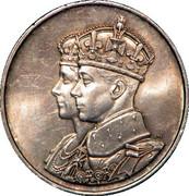 Medallion - George VI (Royal Visit) – obverse