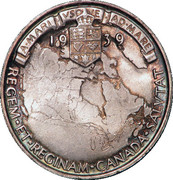 Medallion - George VI (Royal Visit) – reverse