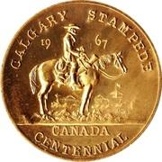 Souvenir Medal - Calgary, Alberta (Calgary Stampede) – obverse