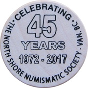 Token - The North Shore Numismatic Society (45th Anniversary) – obverse