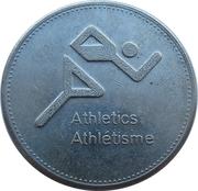 Token - Olympic Trust of Canada (Athletics) – obverse