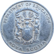 Medal - King George VI and Queen Elizabeth Coronation (Nova Scotia) – reverse