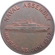 Medal - Halifax Naval Assembly (Nova Scotia) – obverse