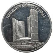 Medal - Toronto Coin Club 25th Anniversary – reverse