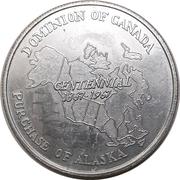 Medal - Purchase of Alaska – obverse